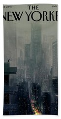 Big City Hand Towel