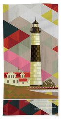Big Sable Point Lighthouse Michigan Hand Towel