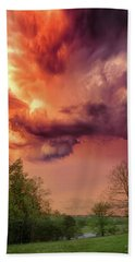 Big Sky Cades Cove Tennessee Hand Towel