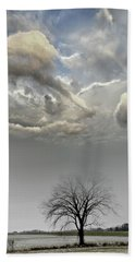 Big Sky One Tree Hand Towel