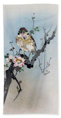 Bird And Petal Hand Towel
