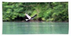 Bird In Flight Hand Towel