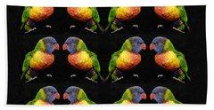 Bird Talk Bath Towel