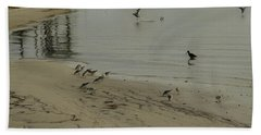 Birds On Beach Bath Towel