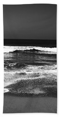 Black And White Beach 7- Art By Linda Woods Bath Towel