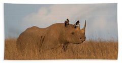 Black Rhino Hand Towel