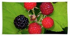 Blackberries Hand Towel