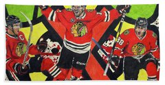 Blackhawks Authentic Fan Limited Edition Piece Hand Towel