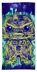 Creature From The Black Lagoon Pop Hand Towel