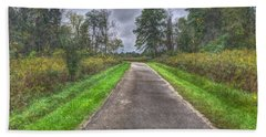 Blacklick Woods Pathway Bath Towel