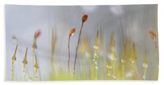 Blooming Moss Bath Towel