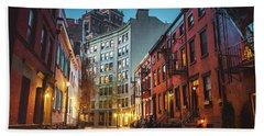 Blue Hour - New York City Hand Towel