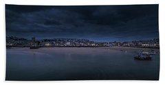 Blue Hour - St Ives Cornwall Bath Towel