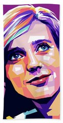Blythe Danner Pop Art Bath Towel