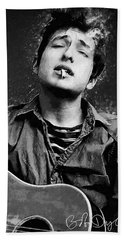 Bob Dylan Hand Towel
