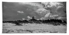 Boca Grande Lighthouse Hand Towel