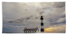 Bodie Island Lighthouse No. 2 Bath Towel