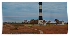 Bodie Island Lighthouse No. 4 Bath Towel