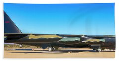 Boeing B52d Sac Bomber Bath Towel