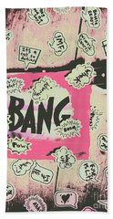 Boom Crash Bang Hand Towel