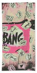 Boom Crash Bang Bath Towel