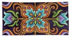 Botanical Mandala 12 Bath Towel