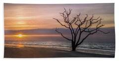 Bath Towel featuring the photograph Botany Bay Sunrise by James Woody
