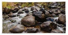 Boulders In Creek Bath Towel