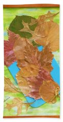 Bouquet From Fallen Leaves Hand Towel