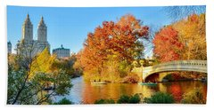 Bow Bridge Hand Towel