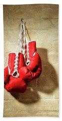 Boxing Gloves Bath Towel