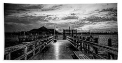 Bradenton Beach City Pier Bath Towel