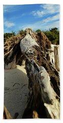 Branch On Beach Bath Towel