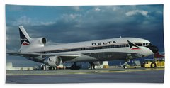 Brand New Delta Airlines L-1011 Tristar Hand Towel