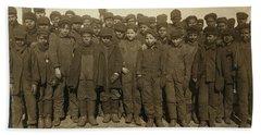 Breaker Boys Ca 1911, By Lewis Hines - 10 Hand Towel