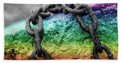 Breaking The Chains Bath Towel
