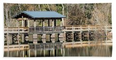 Brick Pond Park - North Augusta Sc Bath Towel