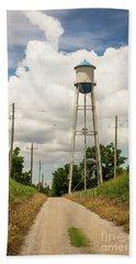 Bridgeport Water Tower  Hand Towel
