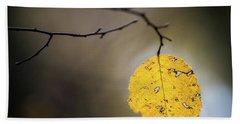 Bright Fall Leaf 7 Hand Towel