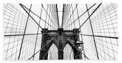 Brooklyn Bridge Web Hand Towel