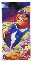 Brother Ray Charles Hand Towel