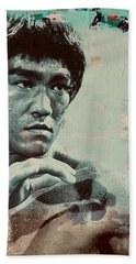 Bruce Lee Hand Towel