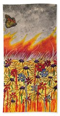 Brushfire Hand Towel