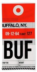 Buf Buffalo Luggage Tag I Hand Towel