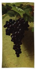 Bunch Of Grapes, 1870 Hand Towel