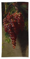 Bunch Of Grapes, 1873 Hand Towel