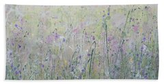Buttercups And Bluebells Hand Towel