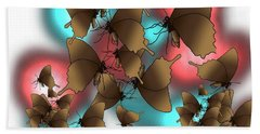 Butterfly Patterns 11 Hand Towel