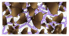 Butterfly Patterns 12 Hand Towel