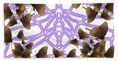 Butterfly Patterns 14 Hand Towel